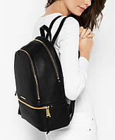 Michael kors rhea medium leather backpack рюкзак кожа
