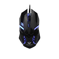 Миша дротова ігрова MEETION Backlit Gaming Mouse RGB MT-M371, чорний