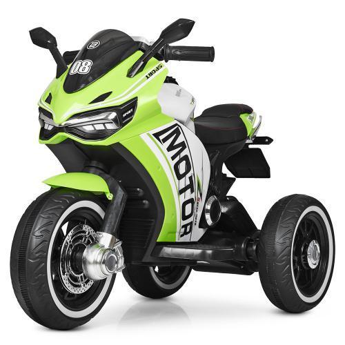 Мотоцикл Bambi M 4053L-5 Зеленый