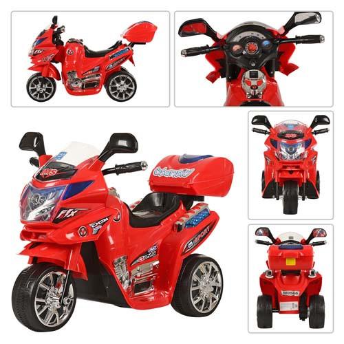 Мотоцикл Bambi M 0566 Красный