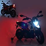 Мотоцикл Bambi M 4252EL-3 Черный, фото 6