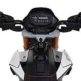Мотоцикл Bambi M 4252EL-3 Черный, фото 4
