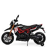 Мотоцикл Bambi M 4252EL-3 Черный, фото 3