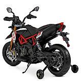 Мотоцикл Bambi M 4252EL-3 Черный, фото 2