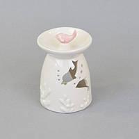 """Аромолампа для ефірних масел """"Дельфін"""" CY750, кераміка, 11х7 см, в коробці, аромалампи, аромо-лампа, аромо лампа для релаксу"""