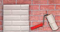 Валик фактурный (структурный) декоративный под кирпич для покраски, шпаклевки