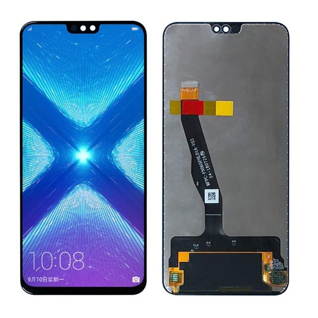 Дисплей (LCD) Huawei Honor 8X   View 10 Lite с тачскрином, черный, оригинал (PRC)