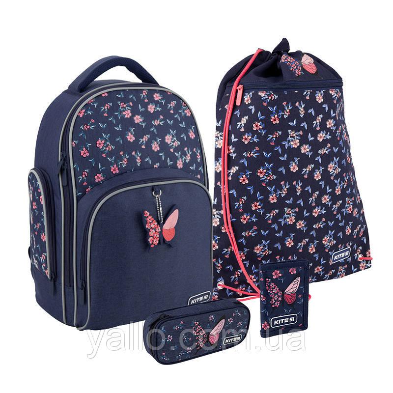 Школьный набор Kite Education Beauty рюкзак пенал сумка SET_K20-706M-3