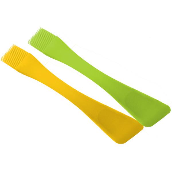 Лопатка-кисточка 2 в 1 силиконовая 26 см