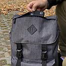 Рюкзак для парней Intruder Camping. Цвет: серый меланж, фото 2