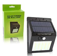 Універсальний світильник на сонячній панелі з датчиком руху Solar Powered 20 Led Wall Light
