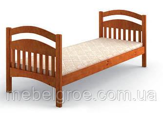 Деревянная односпальная кровать Люкс тм Mebigrand