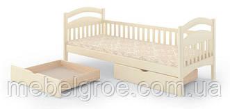 Деревянная односпальная кровать Люкс-1 тм Mebigrand
