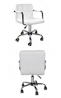 Кресло Артур КО, экокожа, цвет белый