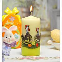 """Свеча для праздничного интерьера Bartek """"Лилипутка"""" SW173, цилиндрическая, 60*130 мм, Фигурные свечи,"""