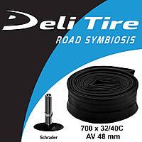 Камера Deli Tire 700 x 32/40C AV 48 мм