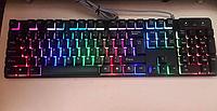 Оригинал! Игровая USB Клавиатура с яркой светодиодной подсветкой клавиш !