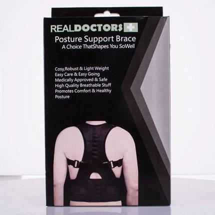 Корректор осанки магнитный Real Doctors Posture Support ХL (WM-14), фото 2