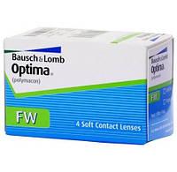Контактные линзы Optima FW (на 3 месяца) 4 шт