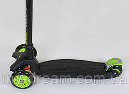 Самокат триколісний Best Scooter Maxi 466-113 / А 24144 Чорний, фото 3