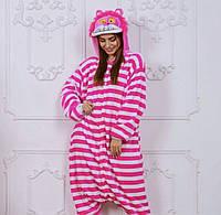 Пижама детская кигуруми Чеширский Кот опт, дроп, розница