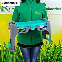 Табурет GREENMILL GR6993 з футляром для інвентаря (Польща), фото 3
