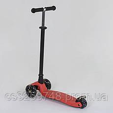Самокат детский трехколесный Best Scooter Maxi 466-113 / А 24902 красный, фото 2