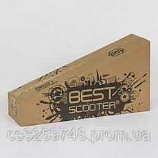 Самокат детский трехколесный Best Scooter Maxi 466-113 / А 24902 красный, фото 3