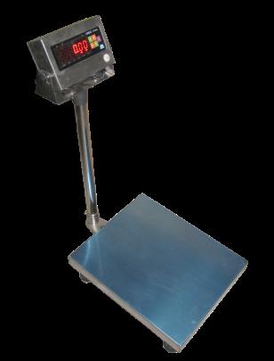 Товарные весы ЗЕВС™ 600х800 нержавеющего исполнения ZEMIC BM6G (100кг), фото 2