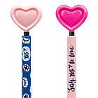 """Ручка YES шарико-масляная """"Big Heart""""  автоматическая 0,7мм , синяя, 2 диз, фото 4"""