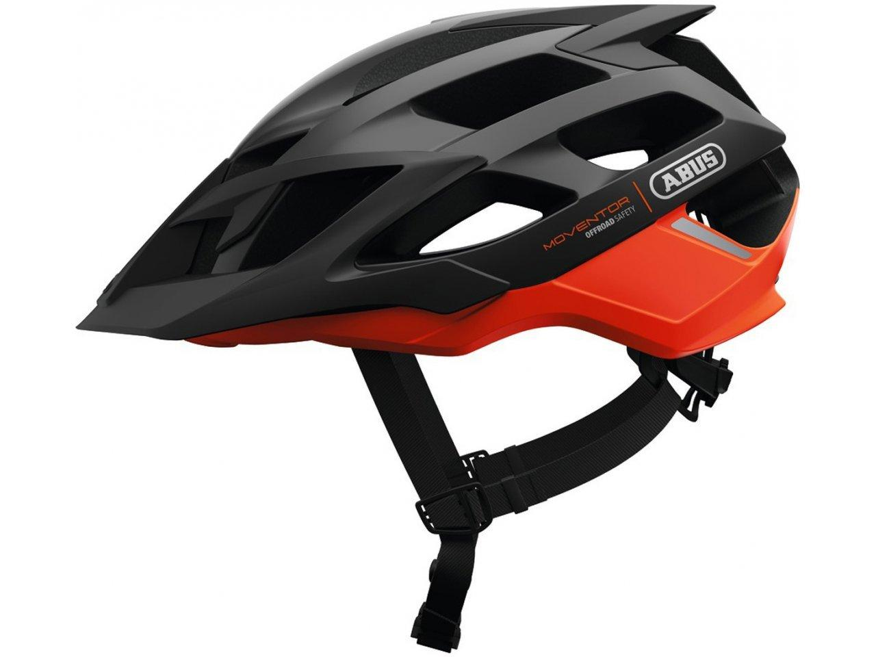 Шолом велосипедний ABUS MOVENTOR M 52-57 Shrimp Orange