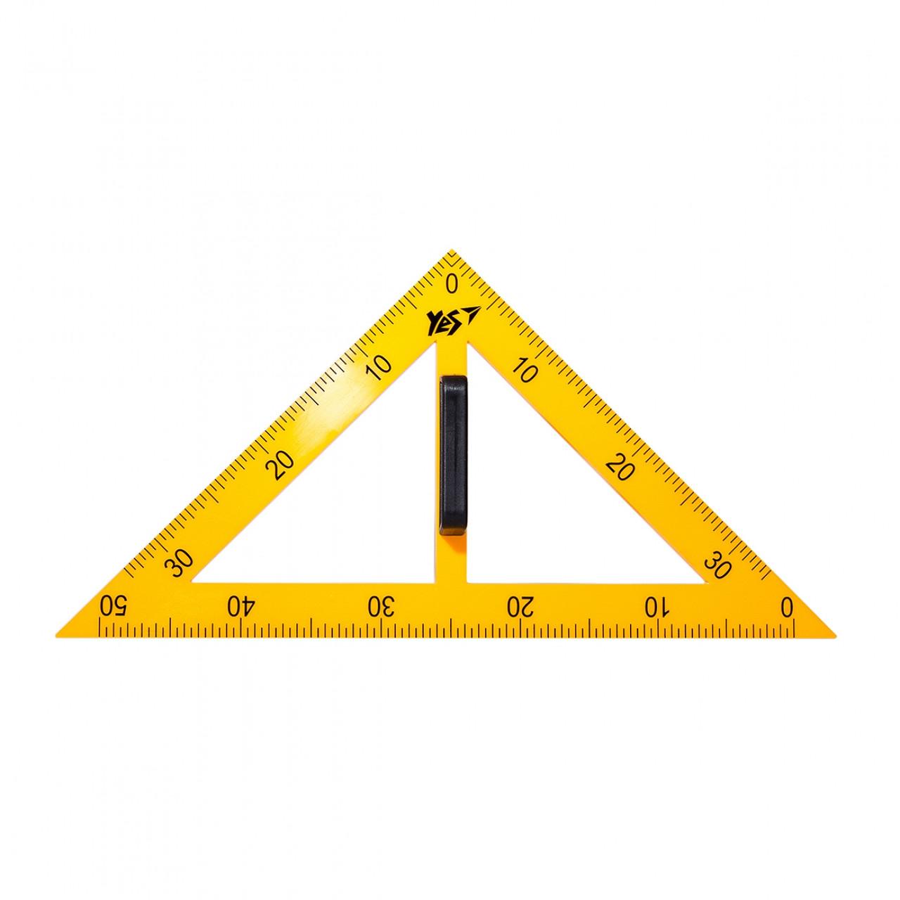 Треугольник YES для доски равнобедренный