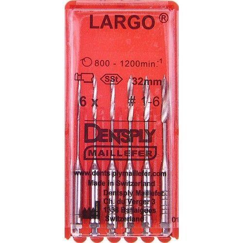 Dentsply Maillefer Largo #1-6 (32 мм)