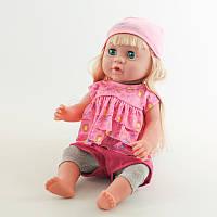 Детская кукла пупс с волосами, малыш как настоящий: говорит, кушает, пьет, спит, ходит на горшочек