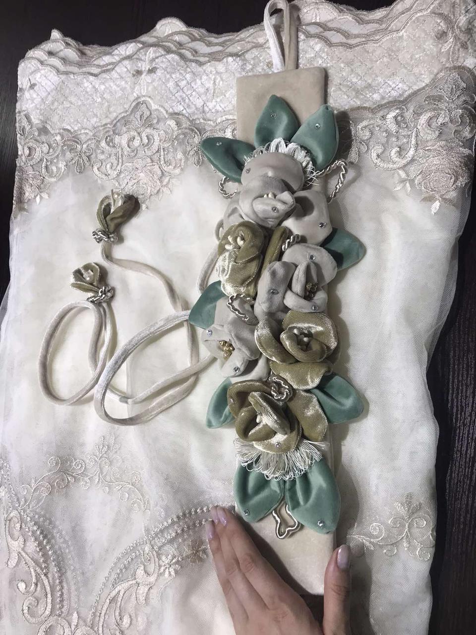 Подхваты для штор Бархатные цветы