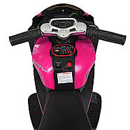 Детский электромотоцикл Bambi Racer M 4135EL-8, фото 3