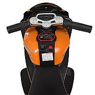 Детский электромотоцикл Yamaha M 4135EL-7 Гарантия качества Быстрая доставка, фото 3