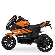 Детский электромотоцикл Yamaha M 4135EL-7 Гарантия качества Быстрая доставка, фото 4