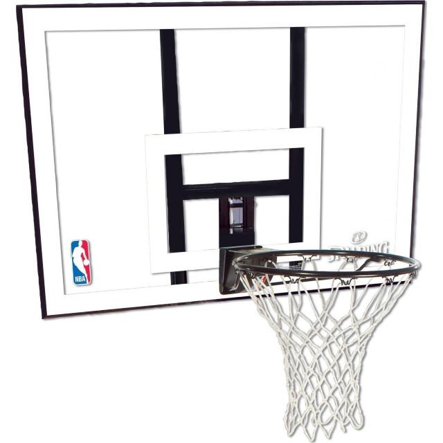 Щит баскетбольный игровой Spalding NBA Acryl Backboard 112х75 см (79484CN)