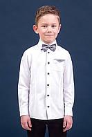 Zironka Рубашка белая для мальчика 42-9008-1