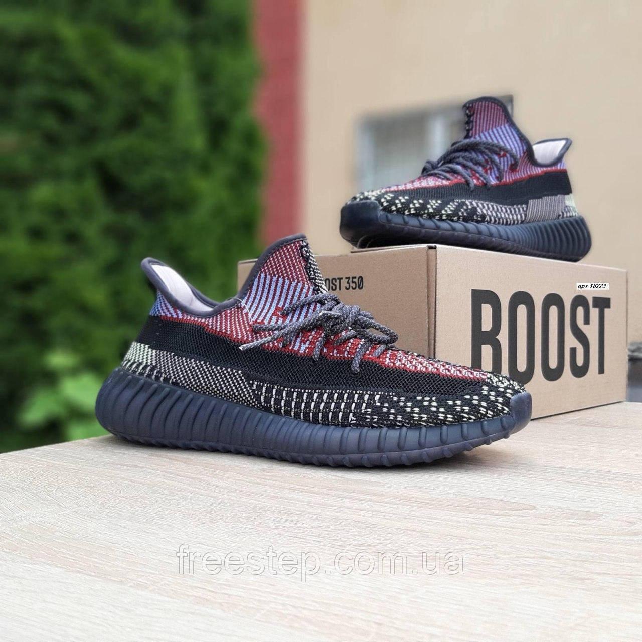 Чоловічі кросівки в стилі Adidas Yeezy Boost 350 кольорові