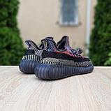 Чоловічі кросівки в стилі Adidas Yeezy Boost 350 кольорові, фото 2