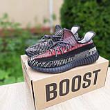 Чоловічі кросівки в стилі Adidas Yeezy Boost 350 кольорові, фото 4