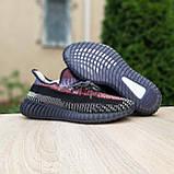 Чоловічі кросівки в стилі Adidas Yeezy Boost 350 кольорові, фото 7