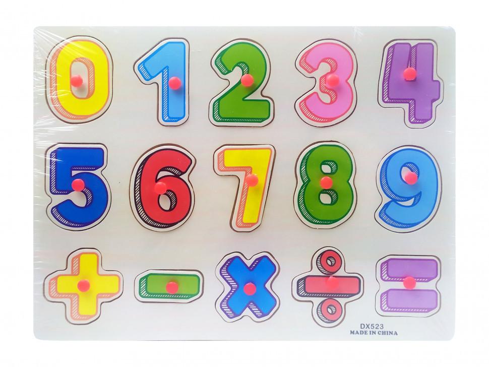 Деревянная игрушка Рамка-вкладыш MD0646-5 ( 0646-523)