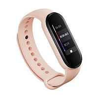 Ремешок для фитнес браслета Xiaomi Mi Band 5 Pale pink, фото 3