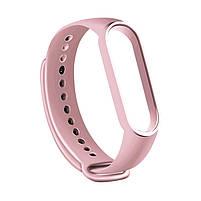 Ремешок для фитнес браслета Xiaomi Mi Band 5 Pale pink, фото 2