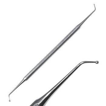 Двосторонній гудзиковий штопфер, 16,3 см , SD-1137-00