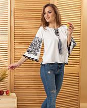 """Женская вышитая блуза """"Этностиль"""", фото 3"""