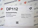 Ременной шкив коленчатого вала (7PK) на Renault Trafic 2.5dCi, 146 л.с. (2006-2014) Hutchinson (Франция) DP112, фото 9